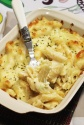 penne with three cheese and white wine 3